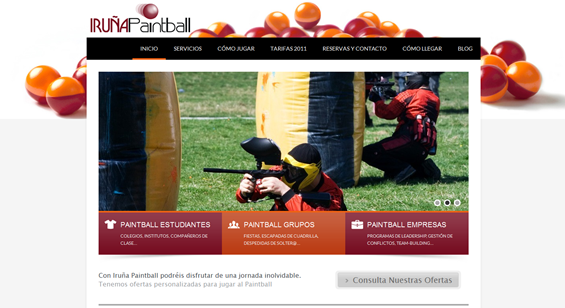 Iruña Paintball, On Estrategia Marketing Online
