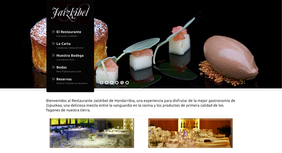 Restaurante Jaizkibel de Hondarribia, On Estrategia Marketing Online